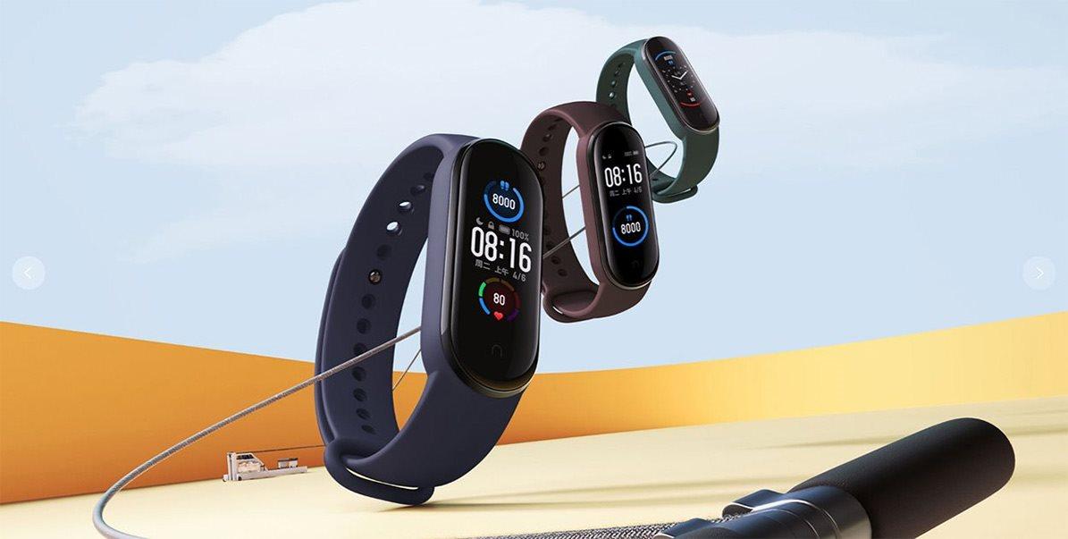 Fitness náramok Xiaomi Mi Band 5 Black