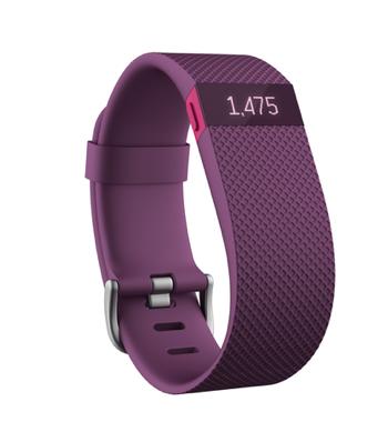 Fitness náramok Fitbit Charge HR fialový