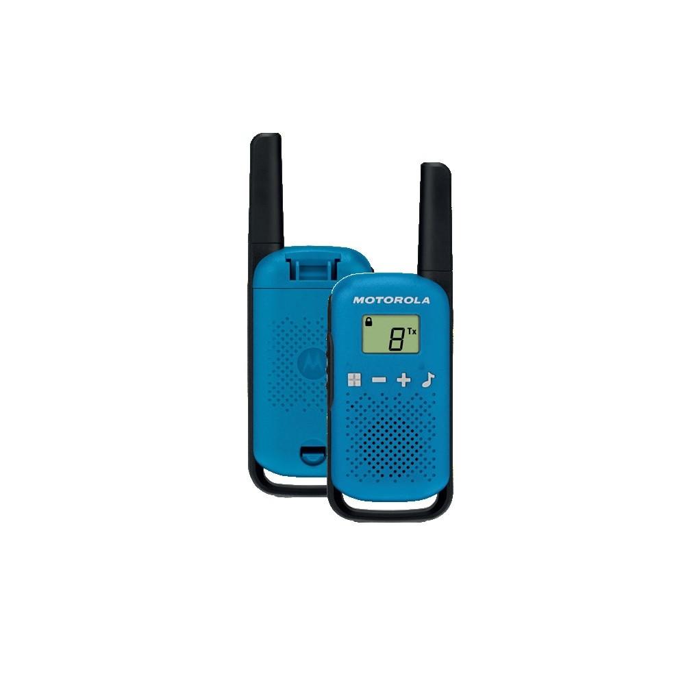 Vysielačka Motorola T42 twin-pack modrá