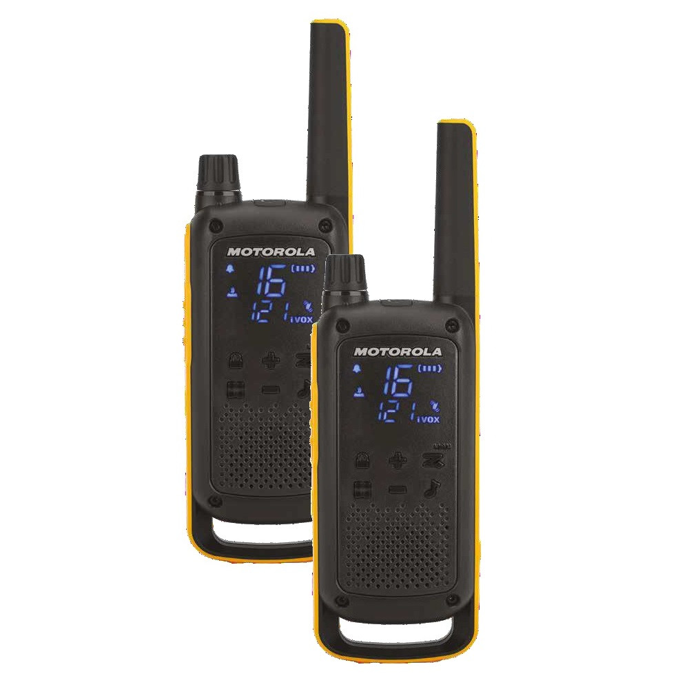 Vysielačka Motorola T82 Extreme twin-pack čierno žltá