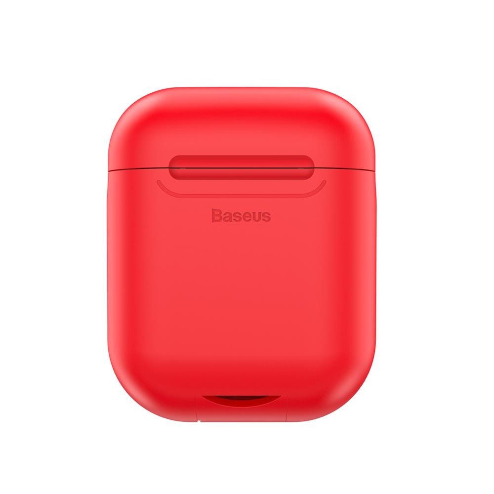 Baseus case for wireless charger for APPLE Airpods red