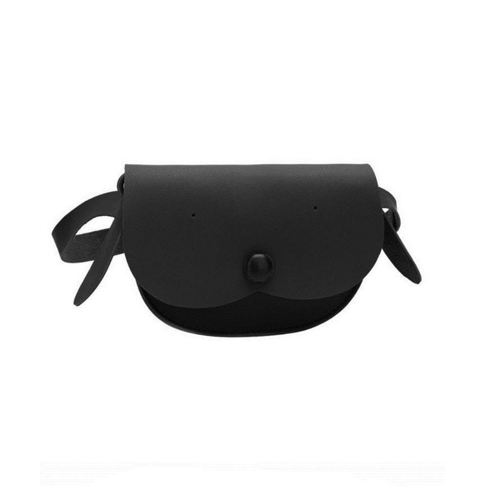 Detská taška s popruhom Puppy čierna