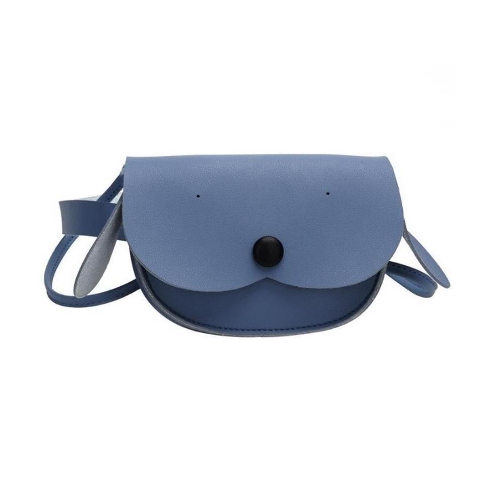 Detská taška s popruhom Puppy modrá
