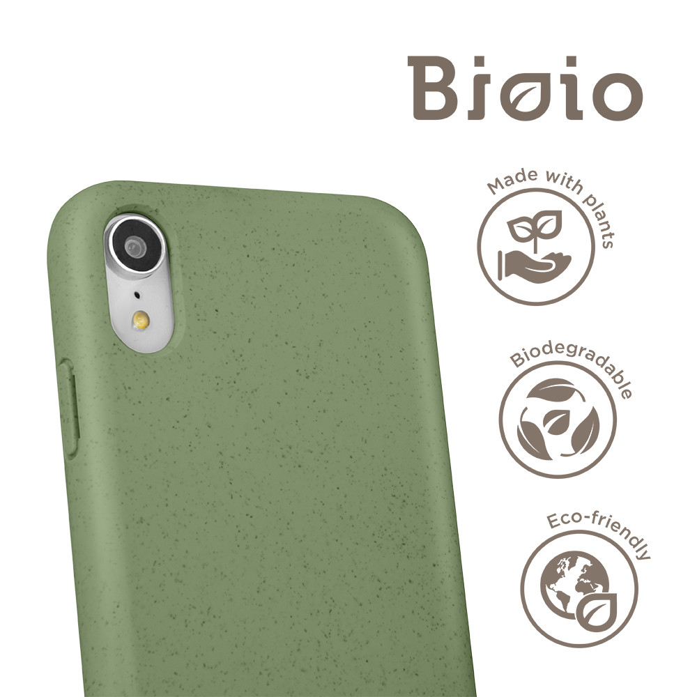 Eko puzdro Forever Bioio pre Apple iPhone XS Max zelené