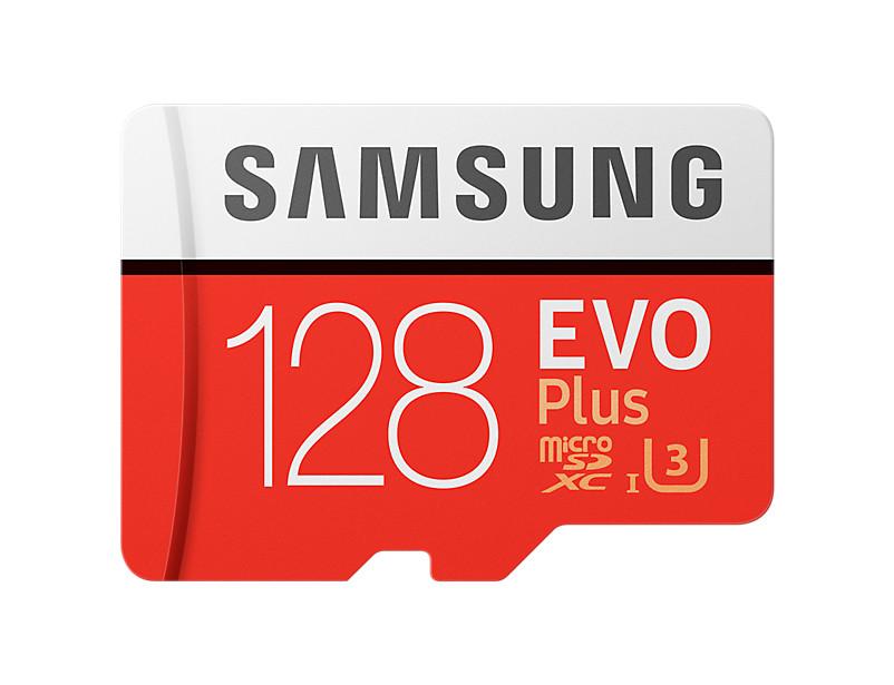 Micro SDXC pamäťová karta 128 GB Samsung Evo Plus + adaptér