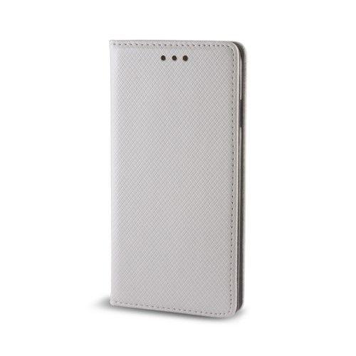 Diárové puzdro Smart Magnet pre Apple iPhone 5 5s SE strieborné be8448cedcb