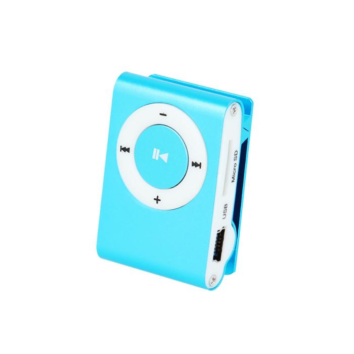 MP3 prehrávač so slúchadlami Setty modrý