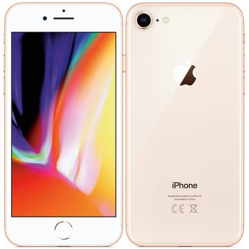 Používaný Apple iPhone 8 128GB Gold - Trieda A