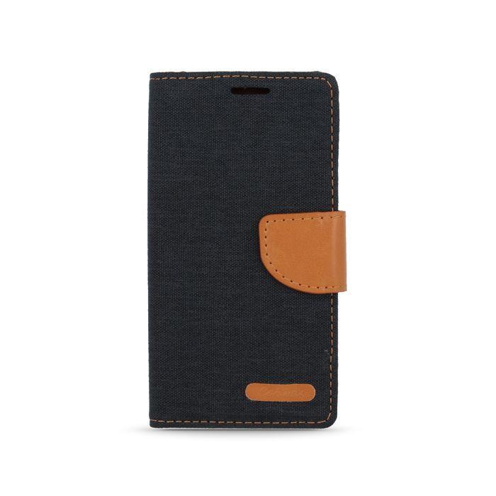 Diárové puzdro Smart Canvas pre Huawei P9 čierne
