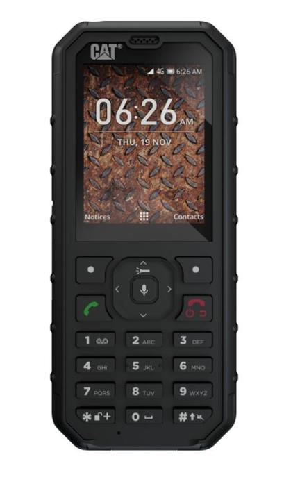 Caterpillar CAT B35, Dual SIM, Black - SK distribúcia