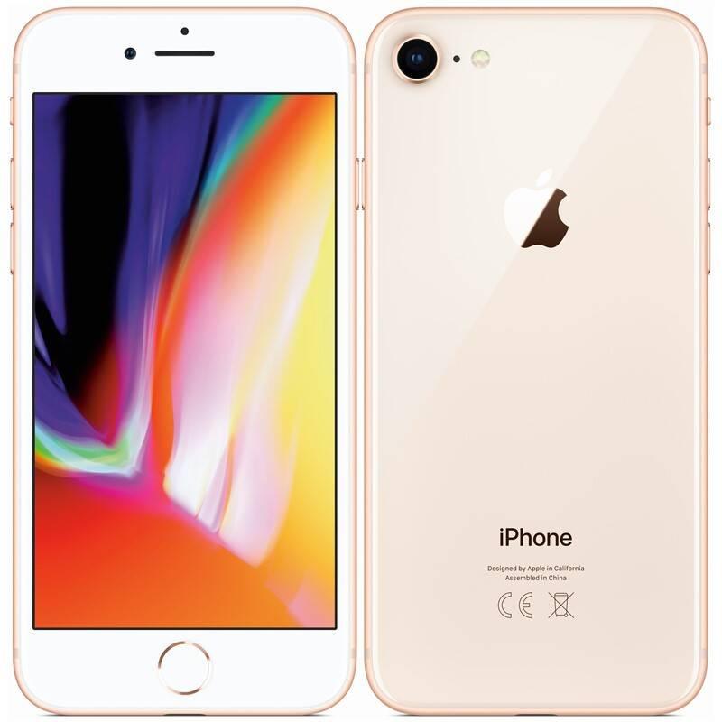 Používaný Apple iPhone 8 256GB Gold - Trieda A