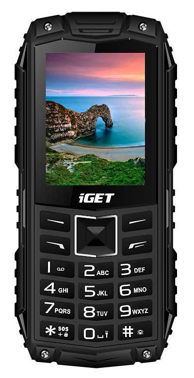 iGET Defender D10, Dual SIM, Black - SK distribúcia