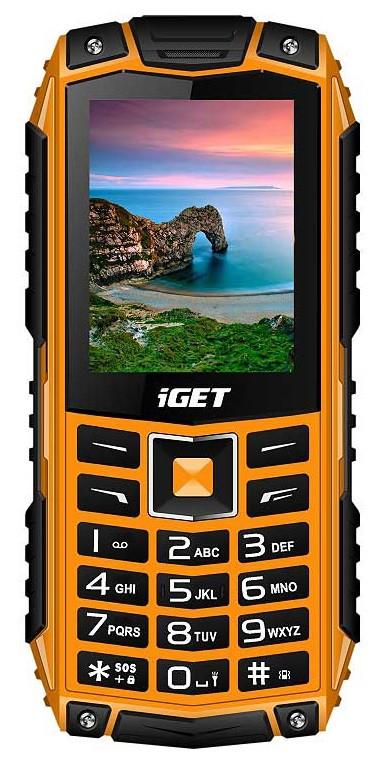 iGET Defender D10, Dual SIM, Orange - SK distribúcia