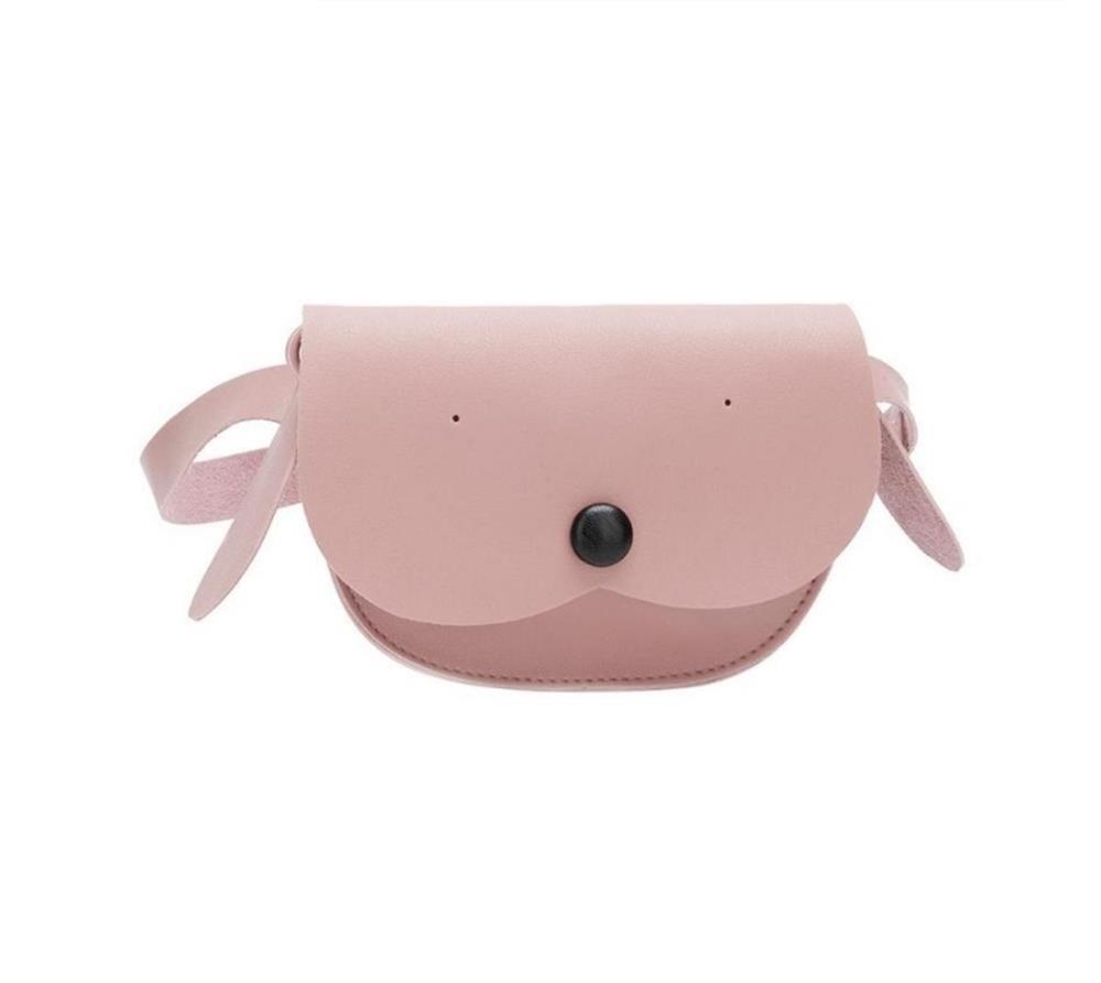 Detská taška s popruhom Puppy ružová
