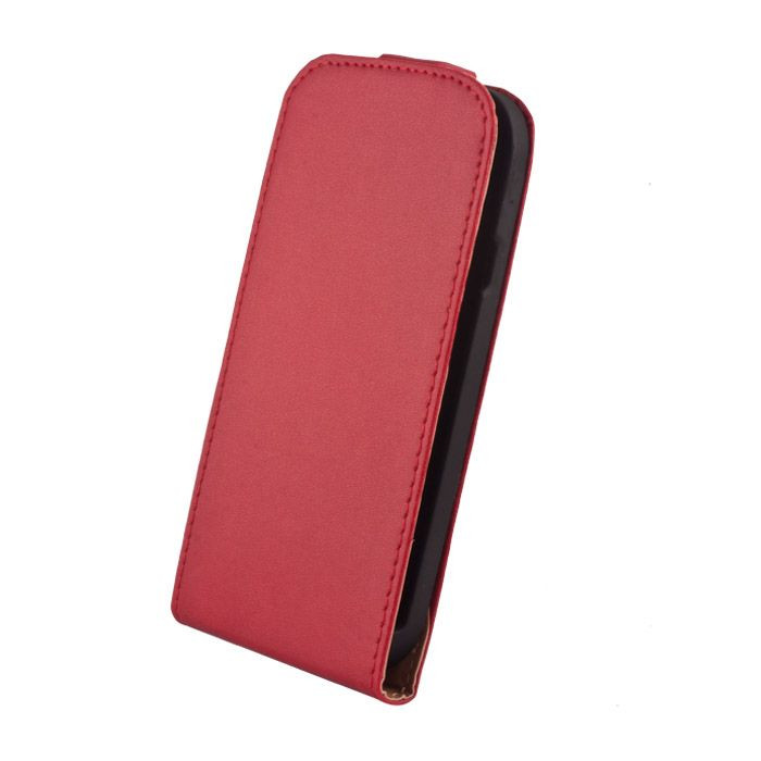 Kožené diárové puzdro Elegance pre Huawei Mate 7 červené