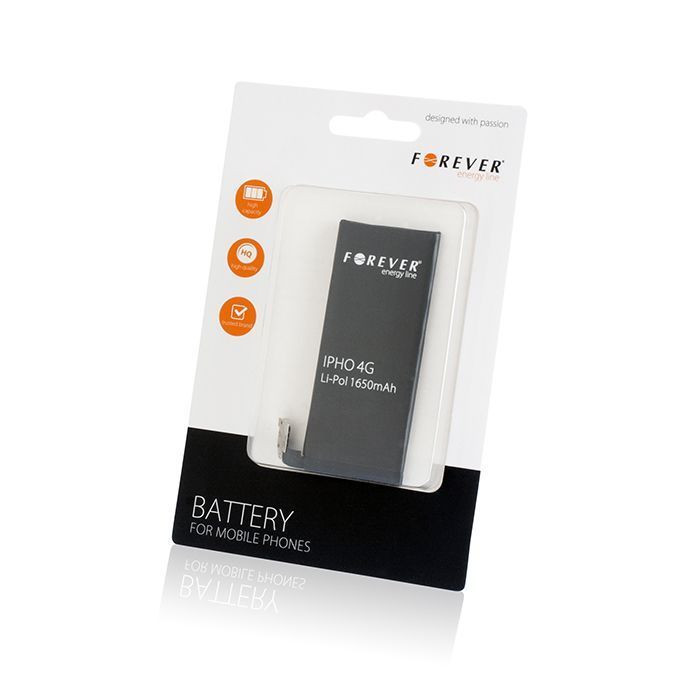 FOREVER batéria pre Apple iPhone 4/4s 1650 mAh Li-Ion