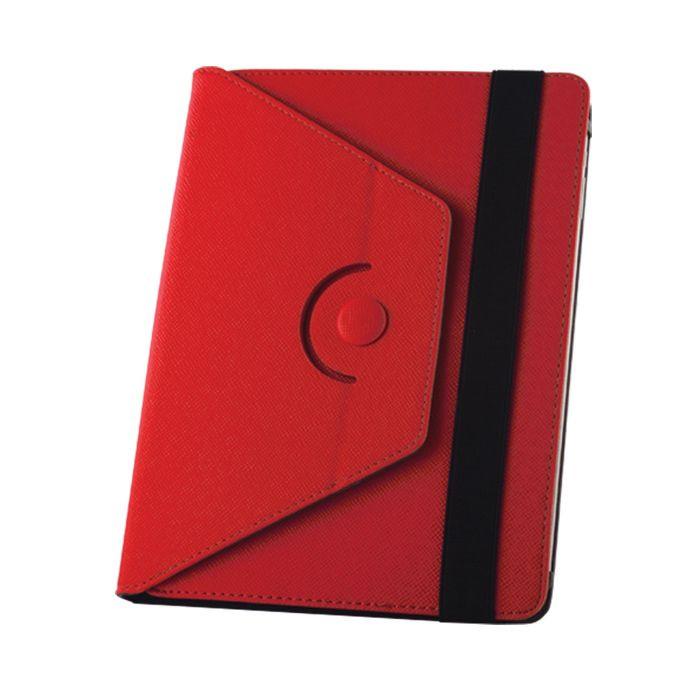 """Univerzálne puzdro Orbi 360 pre tablet 10"""" červené"""