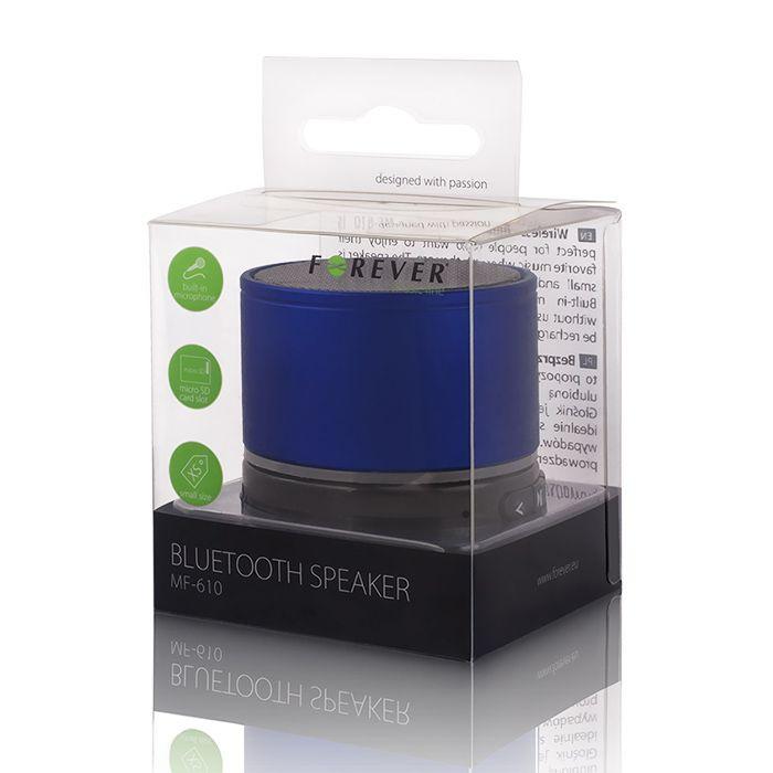 Bluetooth reproduktor Forever BS-100 modrý