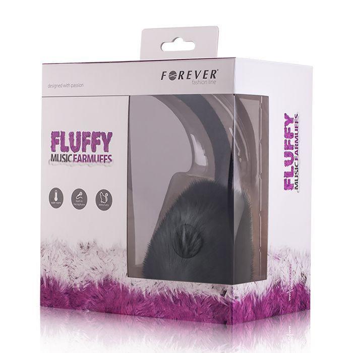 Slúchadlá Fluffy čierne