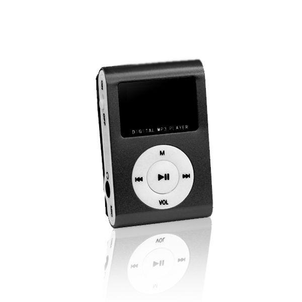 MP3 s LCD + slúchadlá SETTY čierne