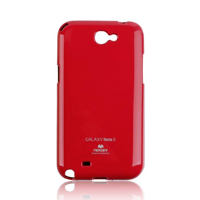 Silikónové puzdro Mercury Jelly pre Apple iPhone 6/6s červené