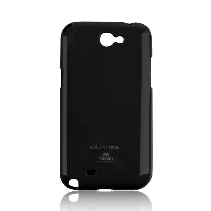 Silikonové puzdro Mercury Jelly pre  HTC ONE M7 čierne