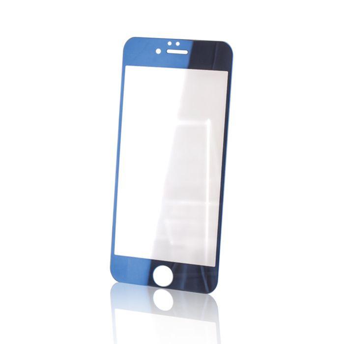 Tvrdené sklo Forever pre Apple iPhone 6/6s modré 016