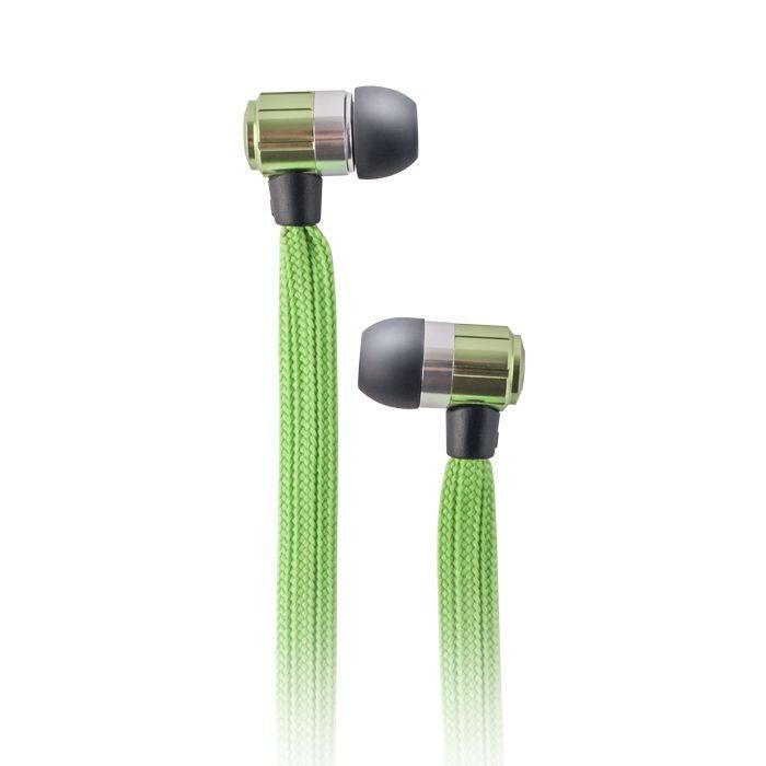 Slúchadlá Forever Swing Music zelené