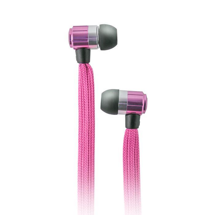 Slúchadlá Forever Swing Music ružové