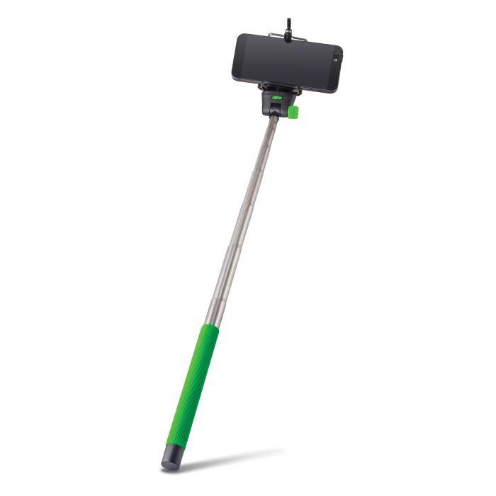 Selfie tyč FOREVER MP-300 zelená