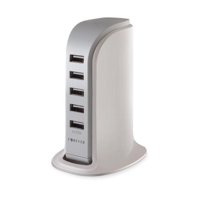Stolová nabíjačka 5 x USB