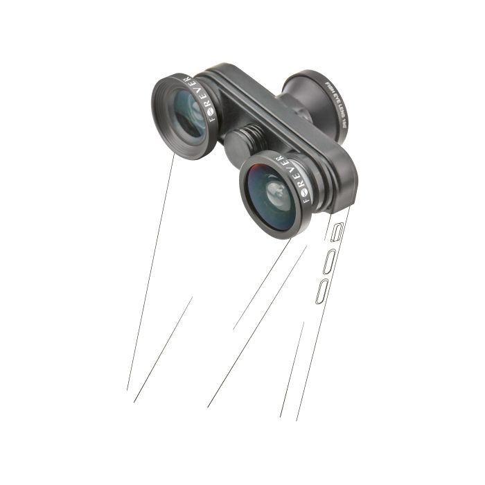 Set objektívov FOREVER 4v1 pre Iphone 6 SL-220