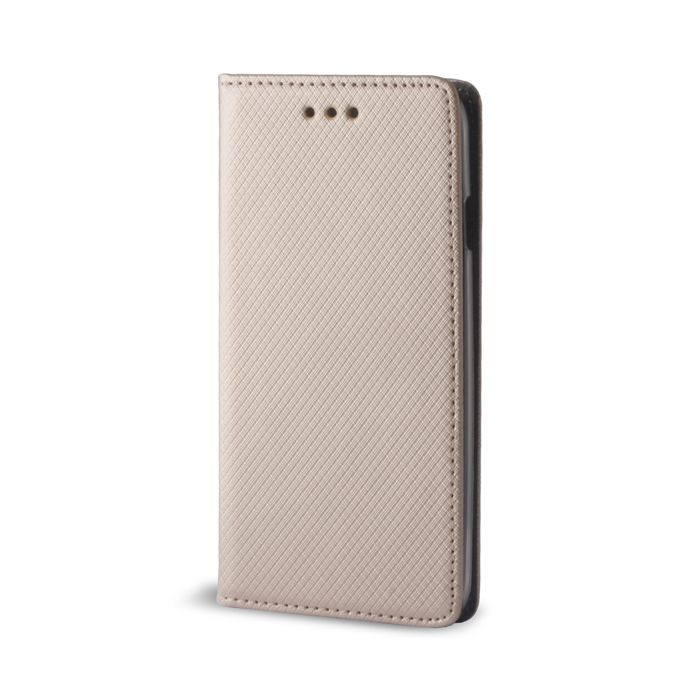 Diárové puzdro Smart Magnet pre Samsung Galaxy A3 2017 zlaté