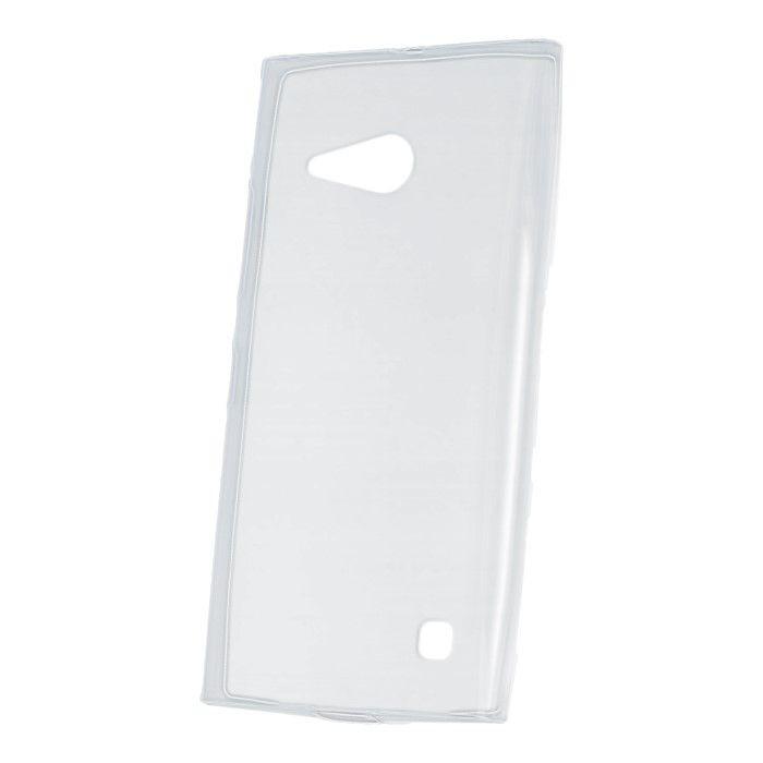 Puzdro Ultra Slim 0,3mm TPU pre Nokia 730/735 transparentné