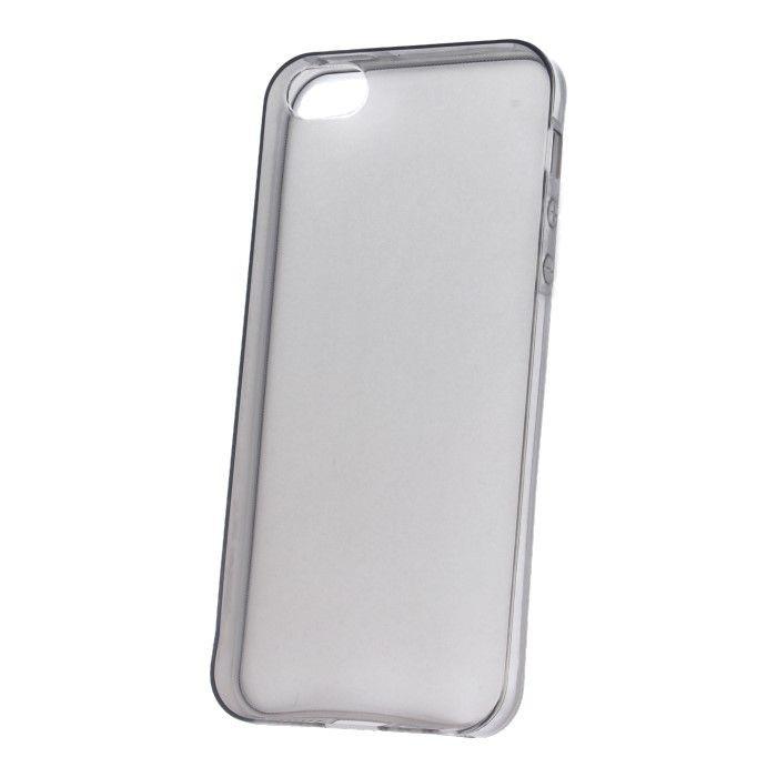 Silikonové puzdro Ultra Slim 0,3 mm pre Apple iPhone 5/5s/SE sivé