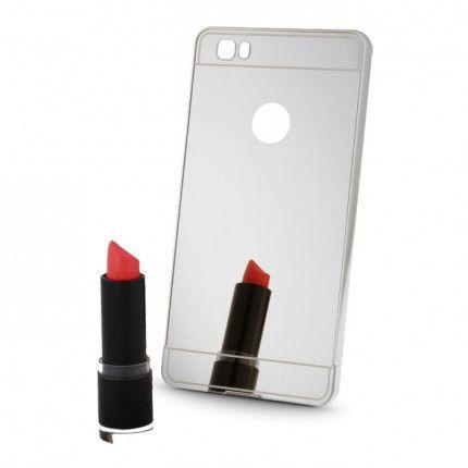 Silikonové puzdro Mirror TPU pre Apple iPhone 5/5s/SE strieborné