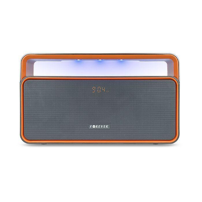 FOREVER reproduktor Bluetooth BS-600 šedo-oranžová