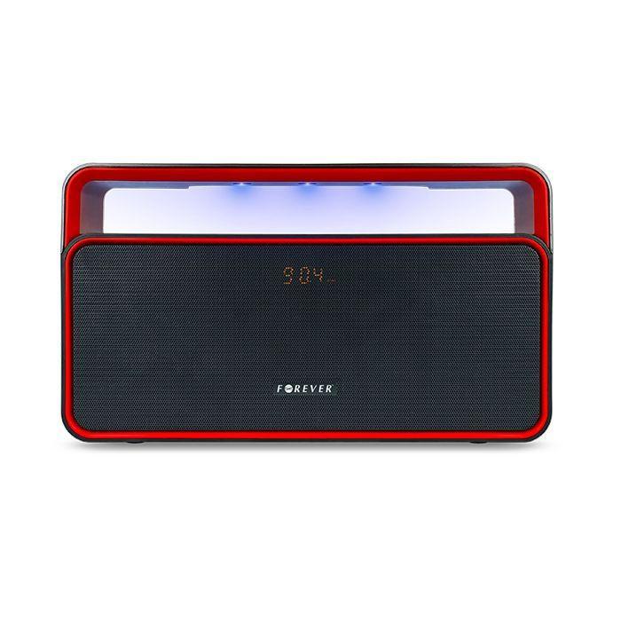 FOREVER reproduktor Bluetooth BS-600 čierna-červená