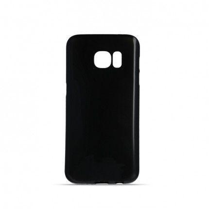 Silikonové puzdro Ultra Chrome pre Apple iPhone 5/5s/SE čierne