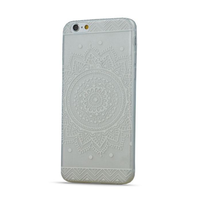 Puzdro TPU Ultra Trendy Henna pre iPhone 6/6s transparentné