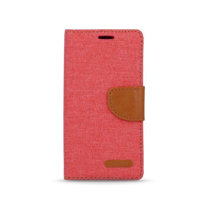 Diárové puzdro Smart Canvas pre LG K10 K420N červené