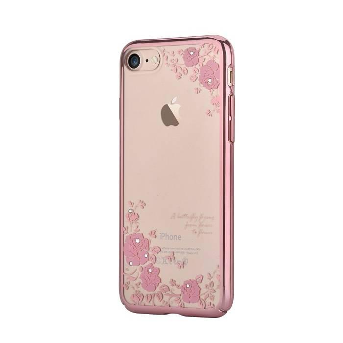 Silikónové puzdro Devia Joyous pre Apple iPhone 7/8 ružové