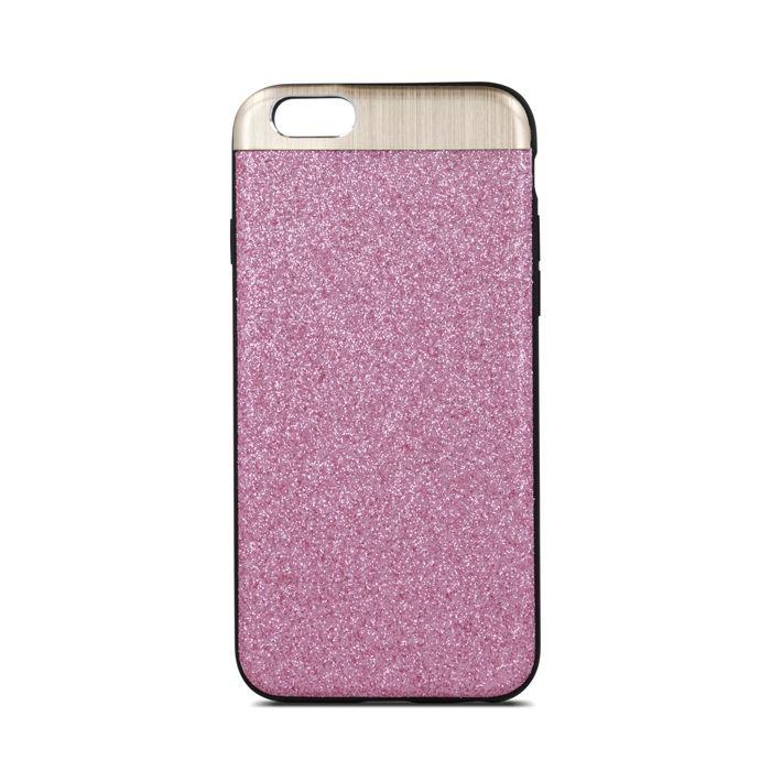 Plastové puzdro Beeyo Glossy pre Apple iPhone 6/6s ružové