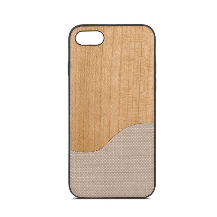Plastové puzdro Beeyo Wave pre Apple iPhone 7 8 bežové 46528660623