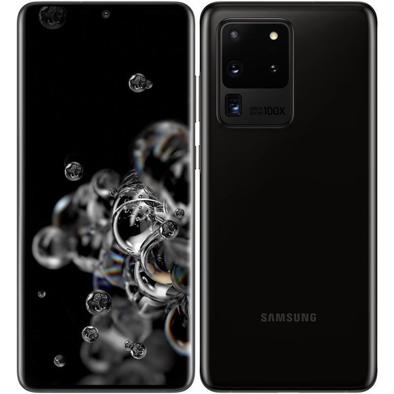 Samsung Galaxy S20 Ultra 5G 128GB G988 Dual SIM Black - Nový z výkupu