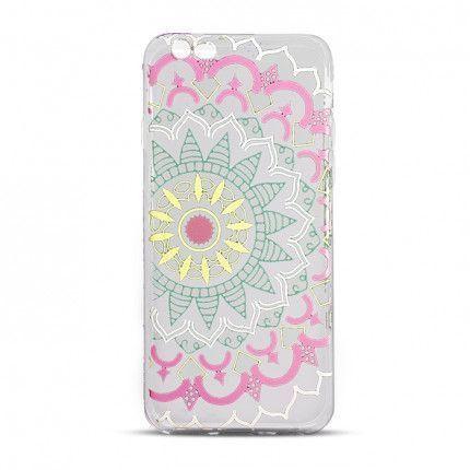 Silikónové puzdro Ultra Trendy Mandala 2 pre Apple iPhone 5 5s SE farebné 9676adbc479