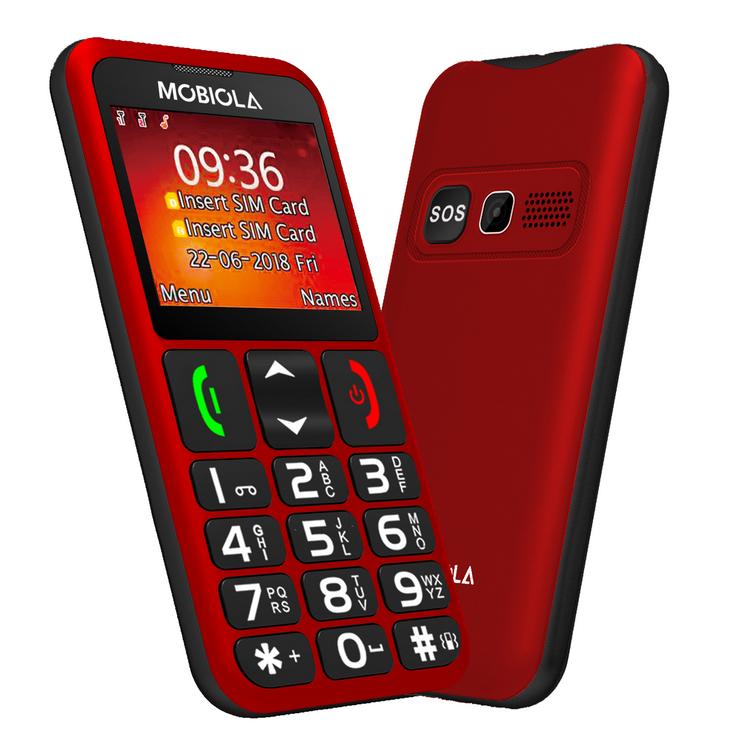 Mobiola MB700, Red - SK distribúcia