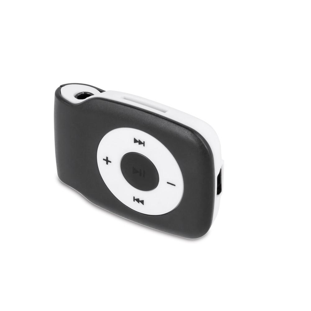 MP3 prehrávač so slúchadlami Setty čierny