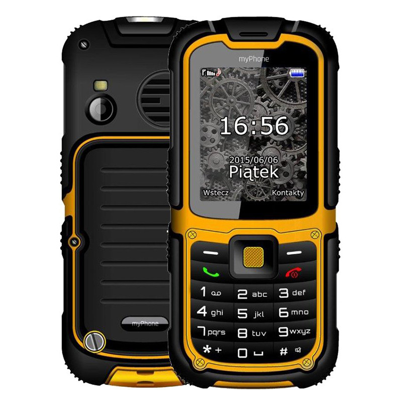 myPhone Hammer 2, Dual SIM, Yellow - SK distribúcia