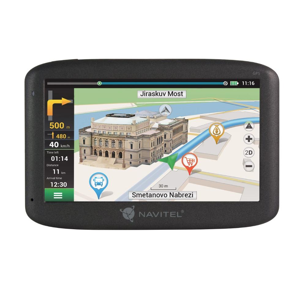 Navigácia Navitel GPS 5,0 E500 čierna